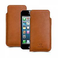 Футляр Stenk Elegance для Apple iPhone 5SE Camel (55605)