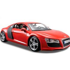 Автомодель (1:24) Audi R8 V10 Plus красный - тюнинг