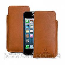 Футляр Stenk Elegance для Apple iPhone 5/ 5S Camel