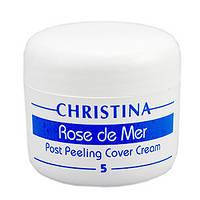 """Постпілінговой тональний захисний крем """"Роз де Мер"""" Rose de Mer Post Peeling Cover Cream"""