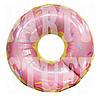 Фольгированный шар Пончик розовый, 70 см