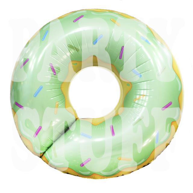 Фольгированный шар Пончик фисташковый