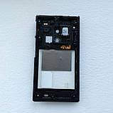 Средняя часть корпуса с полифоническим динамиком для Sony LT26w, 100% оригинал (Б/У), фото 2