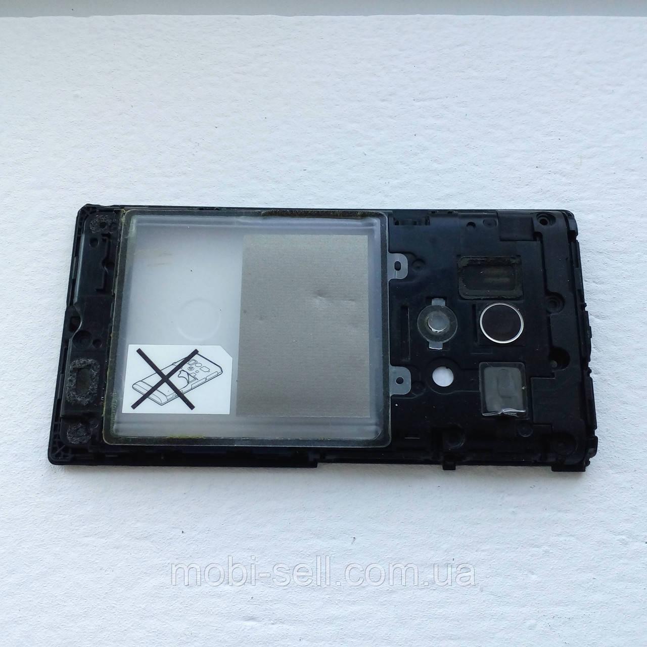 Средняя часть корпуса с полифоническим динамиком для Sony LT26w, 100% оригинал (Б/У)