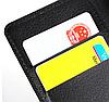 Кожаный чехол книжка для Nokia Lumia 925 черный, фото 4