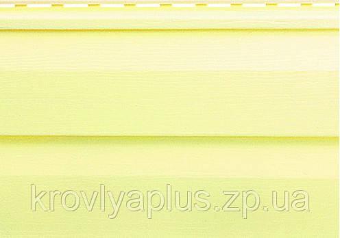 Отделка фасадов ...Сайдинг Альта Профиль  Лимонный  Классика, фото 2