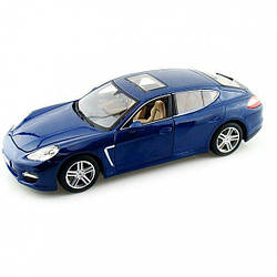 Автомодель (1:18) Porsche Panamera Turbo синий металлик