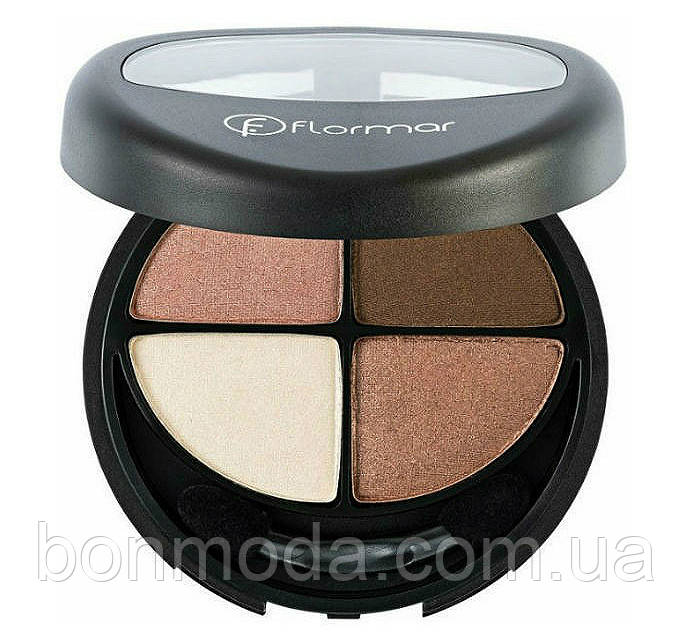 Тени для век Flormar Compact Quartet Eye Shadow № 401