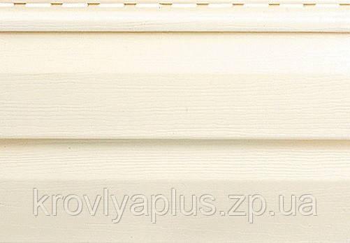 Отделка фасадов ...Сайдинг Альта Профиль Кремовый  Классика, фото 2