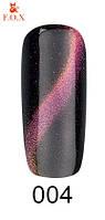 Гель-лак F. O. X Cat Eye 3D №004 жовто-рожево-фіолетовий , 6 мл