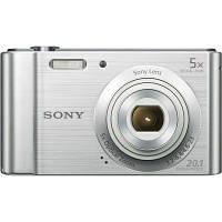 Цифровой фотоаппарат SONY Cyber-Shot W800 Silver (DSCW800S.RU3)