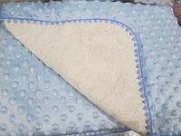 Одеяло детское 110*110см. флис
