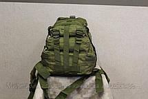 Тактический (городской) рюкзак Oxford 600D с системой M.O.L.L.E Olive (ta25-olive), фото 3