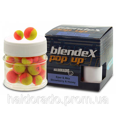 Бойлы плавающие Haldorado BlendeX Клубника + мед 20 гр 8 -10 мм