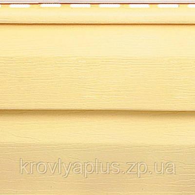 Отделка фасадов ...Сайдинг Альта Профиль  Желтый Престиж