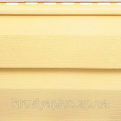 Отделка фасадов ...Сайдинг Альта Профиль  Желтый Престиж, фото 2