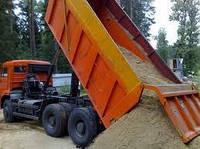 Доставка сыпучих материалов (песок, щебень,отсев,шлак.)