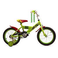 """Велосипед детский Enjoy 16"""" Зеленый Premier (SP149s16l)"""