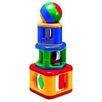 Развивающая игрушка Tolo Toys пирамидка с шаром (89420)