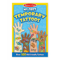 Набор для творчества Melissa&Doug Мои первые временные татуировки, 100 шт., голубые (MD2947)