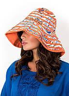 Женская пляжная шляпа David DB8-033 One Size Оранжевый