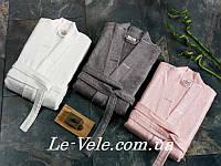 Халат бамбуковый Le Vele кремовый, Размер Размер XL