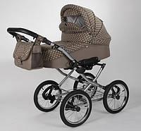 Детская коляска + авто-кресло в ретро стиле .