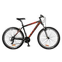 """Велосипед HT-85 Vbr 26"""" рама-20"""" Al (2017) Красный/черный  Leon (OPS-LN-26-013)"""