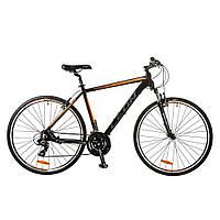 """Велосипед HD-85 Vbr 28"""" / рама-19"""" Al (2017) Оранжевый/черный  Leon (OPS-LN-28-004)"""