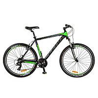 """Велосипед HT-85 Vbr 26"""" рама-18"""" Al (2017) Зеленый/черный  Leon (OPS-LN-26-010)"""