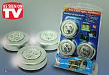 Светодиодный светильники Stick n Click, 3 шт, фото 2