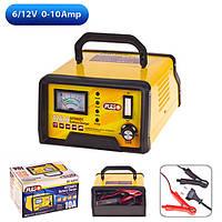 Зарядное устройство для аккумулятора авто PULSO BC-12610 6-12V/0-10A/10-120AH стрелка