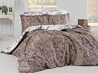 Комплект постельного белья First Choice Zena Kahve, Размер Двуспальный/евро