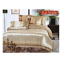 Комплект постельного белья Двуспальный  La Scala (3D-53)