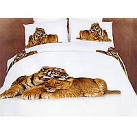 Комплект постельного белья Двуспальный  La Scala (ABC-297)