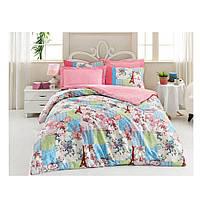 Комплект постельного белья Ранфорс Anya  Mavi 200x220 Cotton Box (010077184)