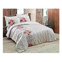 Комплект постельного белья Сатин Bahar Taba  200x220 Cotton Box (010077234)