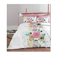 Комплект постельного белья Сатин Dila Gulkurusu  200x220 Cotton Box (01007721)