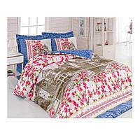 Комплект постельного белья Ранфорс Suzi  Pembe 200x220 Cotton Box (010077247)
