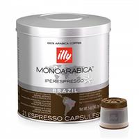 Кофе в капсулах Illy IperEspresso Monoarabica home Brazil 21 шт., Италия