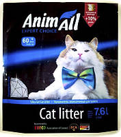 """Animall (Энимал) силикагель """"Голубой аквамарин"""" 7,6л (голубые включения)"""