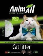"""Animall (Энимал) силикагель """"Зеленый холм"""" 3,8л (салатовые включения)"""