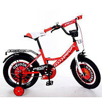 Велосипед двухколёсный детский 16 дюймов Profi Original boy Y1645 красный