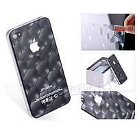 3D Защитная пленка для iPhone 4/4S (Water Cube 2)