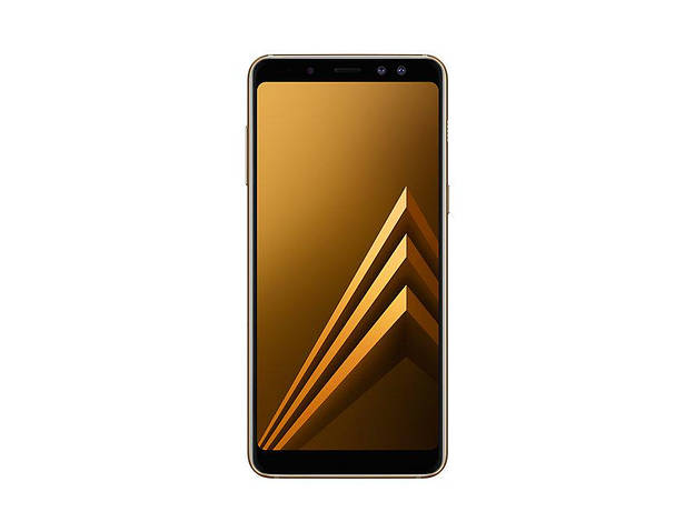 Смартфон Samsung A730F ZDD Gold Galaxy-A8+ (2018) 4/32GB