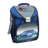 """Ранец школьный каркасний-трансформер 14""""  Blue Car COOL4SCHOOL (CF85653)"""