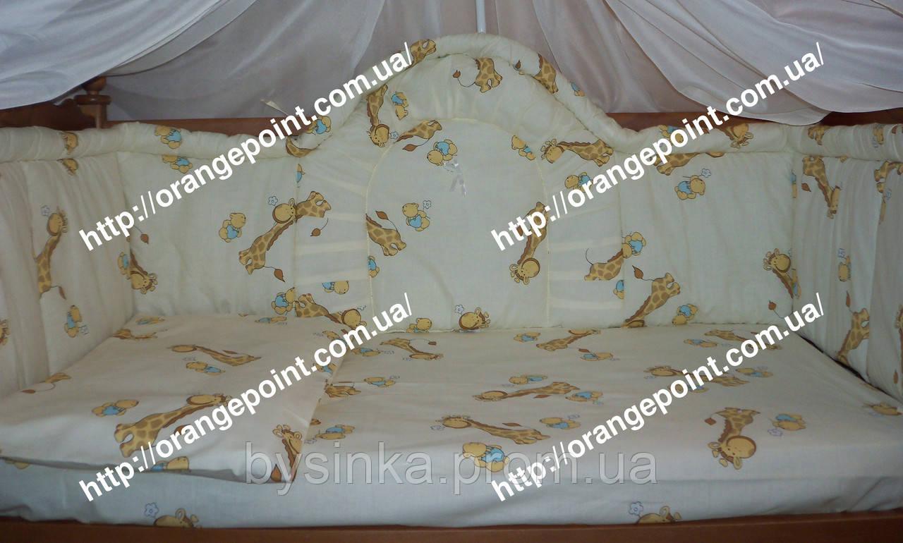 Защита высокая, цельная - 40 см детскую кроватку.