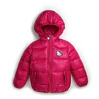 Малиновая курточка для девочки весна-осень