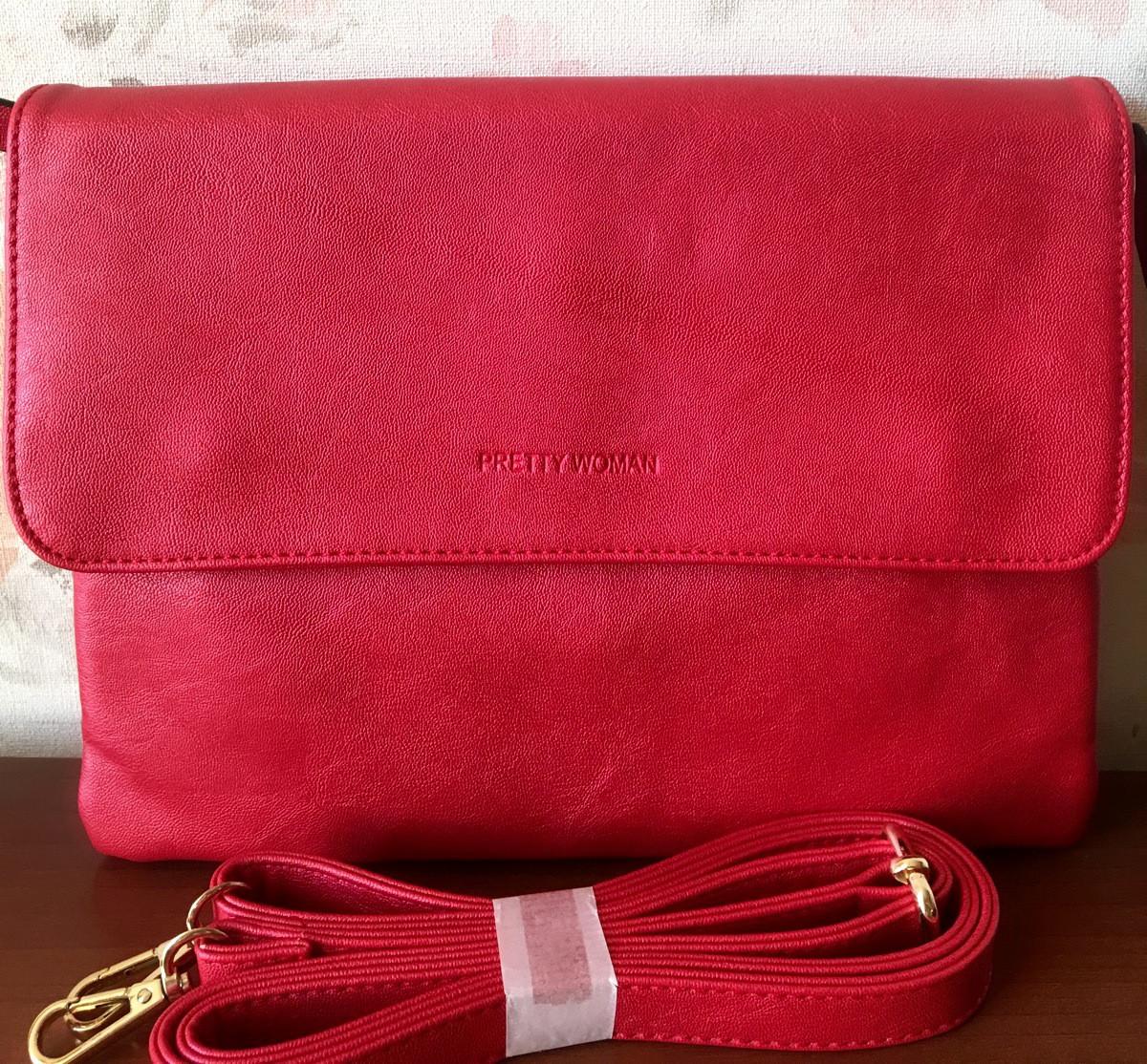 Мини сумочка красная Pretty Woman