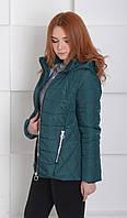 Куртка женская весенняя м-155 малахит
